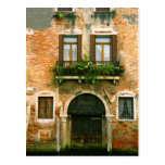 Venetian Building Facade Postcard