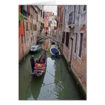 Venetian Canal - 2 Greeting Card