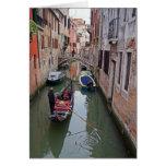 Venetian Canal - 2 Greeting Card