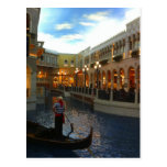 Venetian Canal Gondola Ride, Las Vegas Postcards