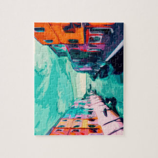 Venetian Canal Jigsaw Puzzle