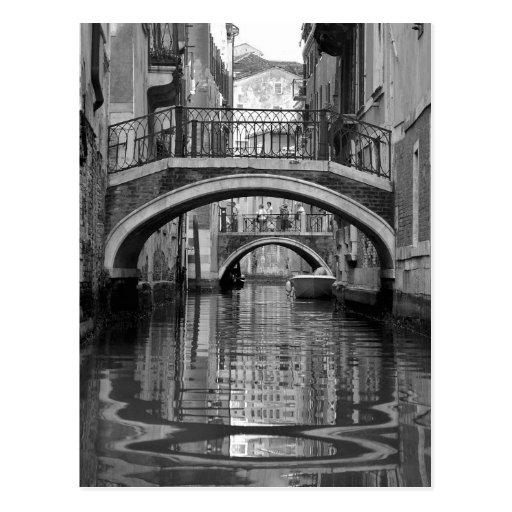 Venetian Canal Postcard Post Cards