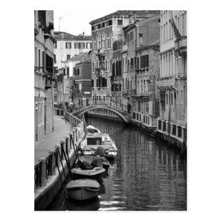 Venetian Canal Postcard Postcard