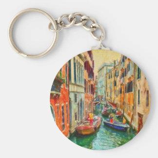 Venetian Canal Venice Italy Key Ring