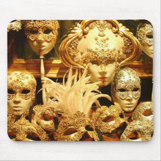 Venetian Carnival Masks Mousepad