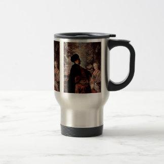 Venetian Festival (Fêtes Vénitienne) Detail Coffee Mugs