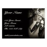 Venetian Gondolas Chubby Business Card