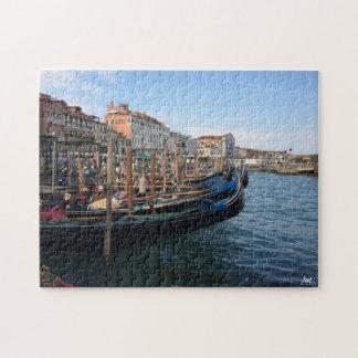 Venetian Gondolas Jigsaw Puzzle