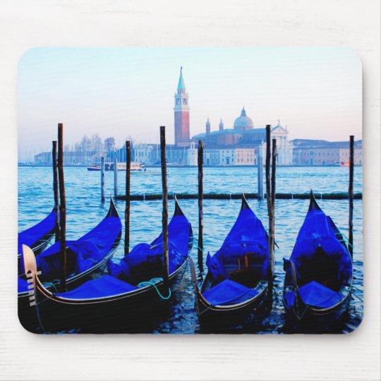 Venetian Gondolas Mouse Mat