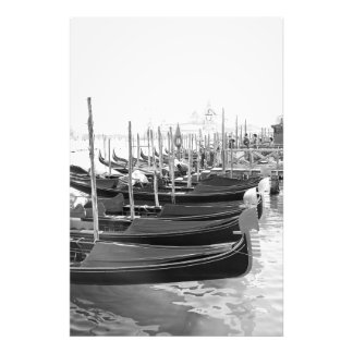 Venetian gondolas on the water - Photo print