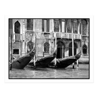 Venetian Gondolas Postcard Postcards
