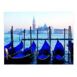 Venetian Gondolas Postcards
