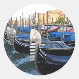 Venetian Gondolas Sticker