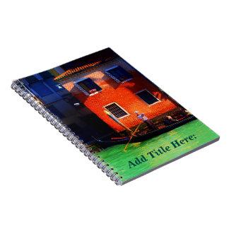 Venetian Gondolier Spiral Notebooks