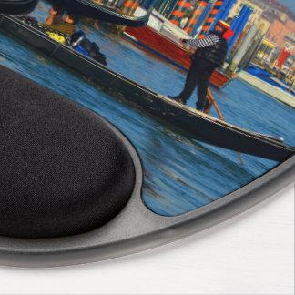 Venetian gondoliers gel mouse pad