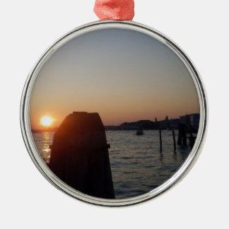 Venetian Lagoon Christmas Ornament