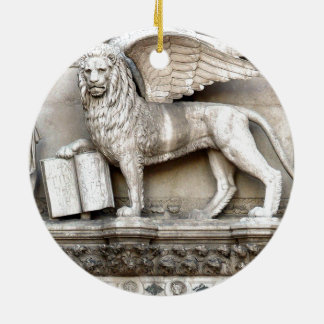 Venetian Lion Christmas Ornament