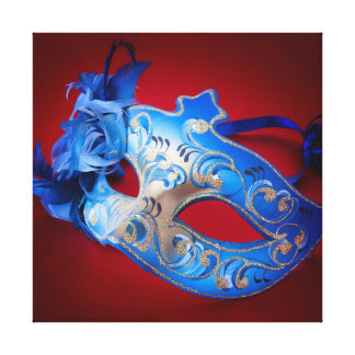 Venetian Mask Gallery Wrap Canvas