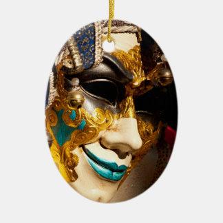 Venetian Mask Christmas Ornament