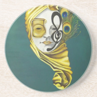 Venetian Mask Coaster