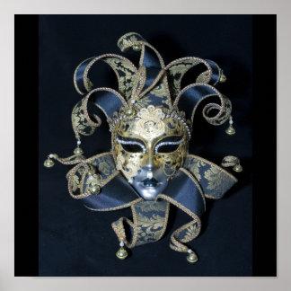 Venetian mask posters
