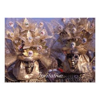 Venetian Masks Invites