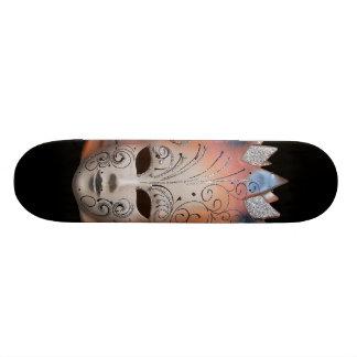 Venetian Masks Skateboard
