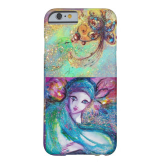 VENETIAN MASQUERADE /MASK IN BLUE BARELY THERE iPhone 6 CASE
