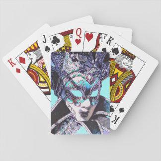 Venetian Masquerade Playing Cards