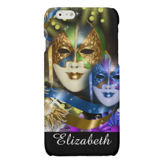 Venetian masquerade quinceanera masks iPhone 6 plus case