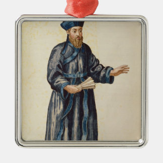 Venetian missionary in China Christmas Ornament