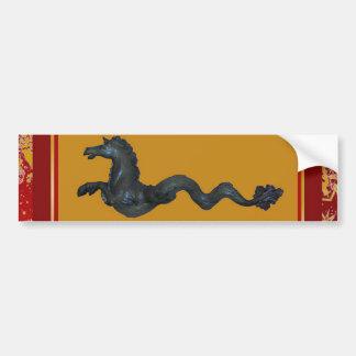 Venetian Murano Glass Horse Bumper Sticker