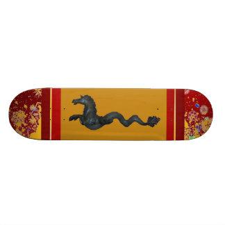 Venetian Murano Glass Horse Skateboard
