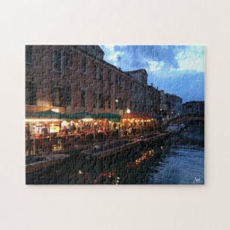 Venetian Restaurants Jigsaw Puzzle