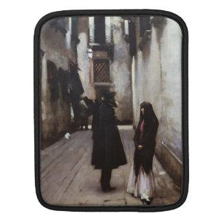 Venetian Street fine art painting John Sargent iPad Sleeves