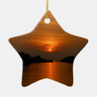 Venetian Sunset Christmas Ornament