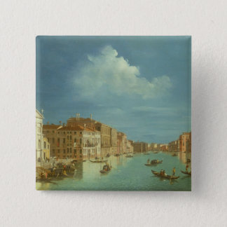 Venetian View, 18th century 15 Cm Square Badge
