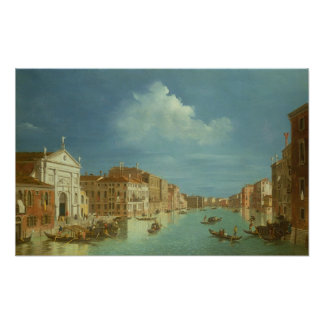 Venetian View, 18th century Poster