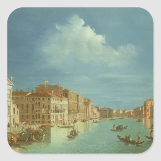Venetian View, 18th century Square Sticker