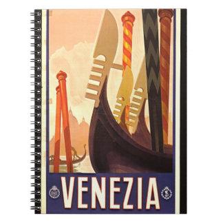 Venezia 1920 note book