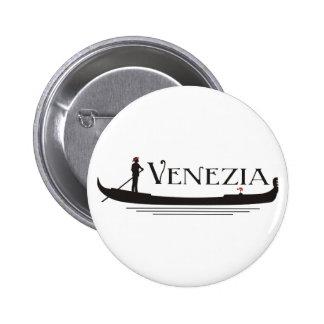 Venezia 6 Cm Round Badge