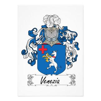 Venezia Family Crest Invitations