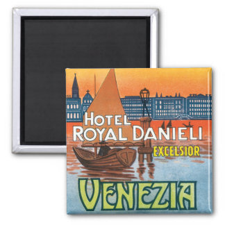 Venezia Hotel Royal Danieli Square Magnet
