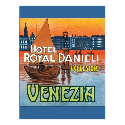 Venezia Hotel Royal Danieli Postcards