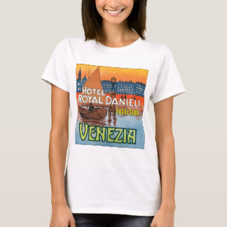 Venezia Hotel Royal Danieli T-Shirt