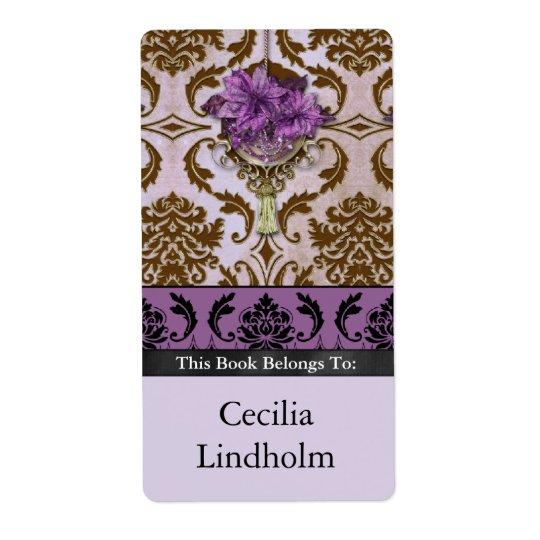 VENEZIA POINSETTIA in Brown and Lilac