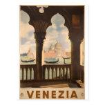 Venezia poster design postcards