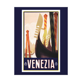 Venezia Tourism Canvas Print