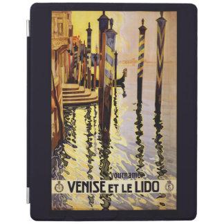 Venezia Venice Italy vintage travel device covers iPad Cover
