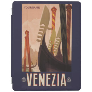 Venezia Venice Italy vintage travel device covers iPad Cover